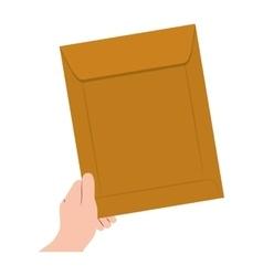 Document envelope icon vector