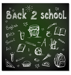 Education and back to school vector
