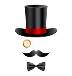 Gentleman set 2 vector