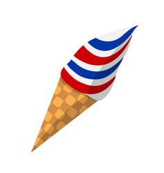 Ice cream flat icon colorfull design element vector