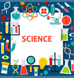 science paper template vector image