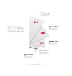 Sunburst-pie chart color infographics step by vector