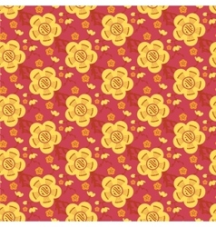 Chinese asian seamless pattern background vector image