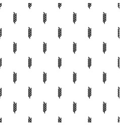 Grain spike pattern vector