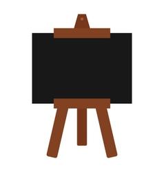 Whiteboard icon vector