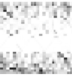 Abstract gray background of squares vector