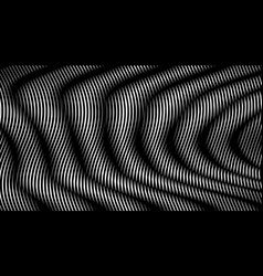 abstract monocurome background with moire vector image