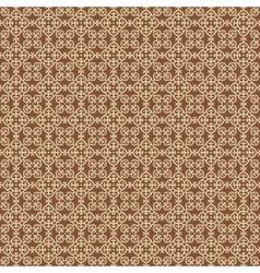 Arabesque gold pattern vector image
