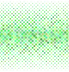 Diagonal square pattern background from green vector