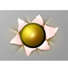 flower out of bullets vector image
