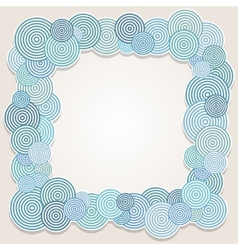 Frame of circles vector