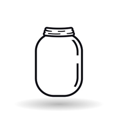 jar icon design vector image