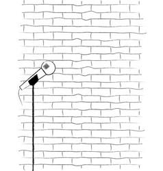 Karaoke poster sketch vector