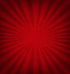 Red Retro Sunburst Paper vector image