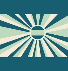 Retro banner background vector