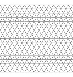 Seamless triangle pattern background vector