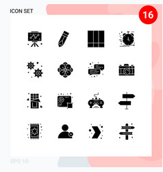 universal icon symbols group 16 modern solid vector image