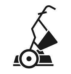 Yard grass cutter icon simple style vector