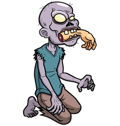 Zombies cartoon vector