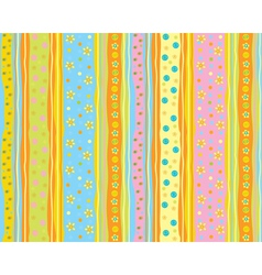 cute pattern vector image vector image