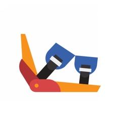 Ski Binding Icon vector image vector image