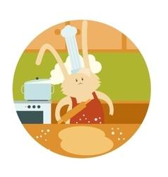 Rabbit Cooker vector image