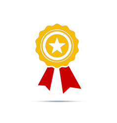 best first prize won icon design element vector image