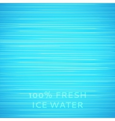 Blue ice texture background vector image