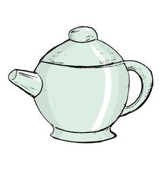 china teapot vector image