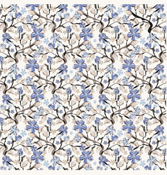floral pattern can be used for wallpaper web page vector image