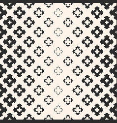 halftone seamless texture with floral shapes vector image