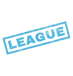 League Rubber Stamp vector
