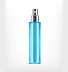 realictic cosmetic spray bottle vector image