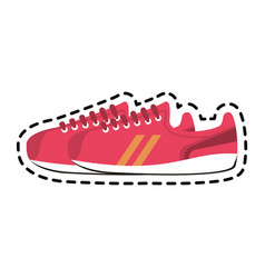 Sneakers sport icon image vector