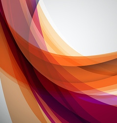 Abstract Colorful Futuristic Wave Background EPS10 vector image