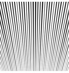background with black and white lines vector image