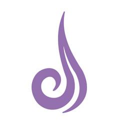 Abstract air symbol vector