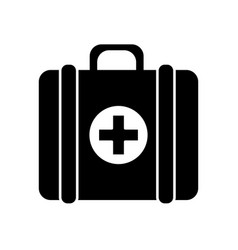 Contour first aid kit medications tools vector