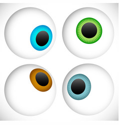 Eyeball - eye icons vector