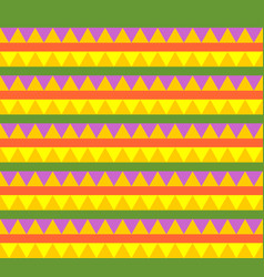 mexican traditional seamless pattern national vector image