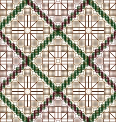 Pattern decorative lattice vector