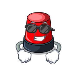 Super cool sirine character cartoon style vector