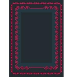 Asian ornaments collection historically vector