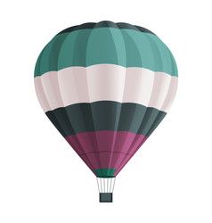 balloon for flights floating airship airy flying vector image