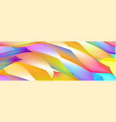 Gradient abstract space multicolored vector