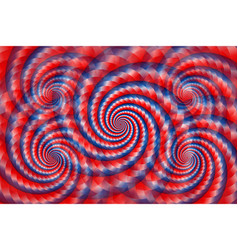twisted tricolor background vector image