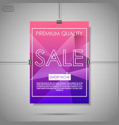 crystal sale background vector image