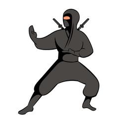ninja icon icon cartoon vector image