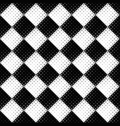 abstract black and white seamless circle pattern vector image