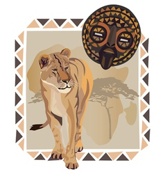 Africa Wildlife Culture vector